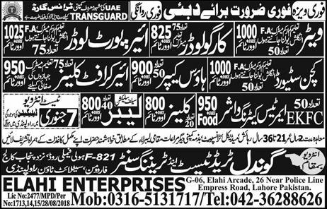 Jobs In Gondal Trade Test And Training Centre 07 Jan 2019